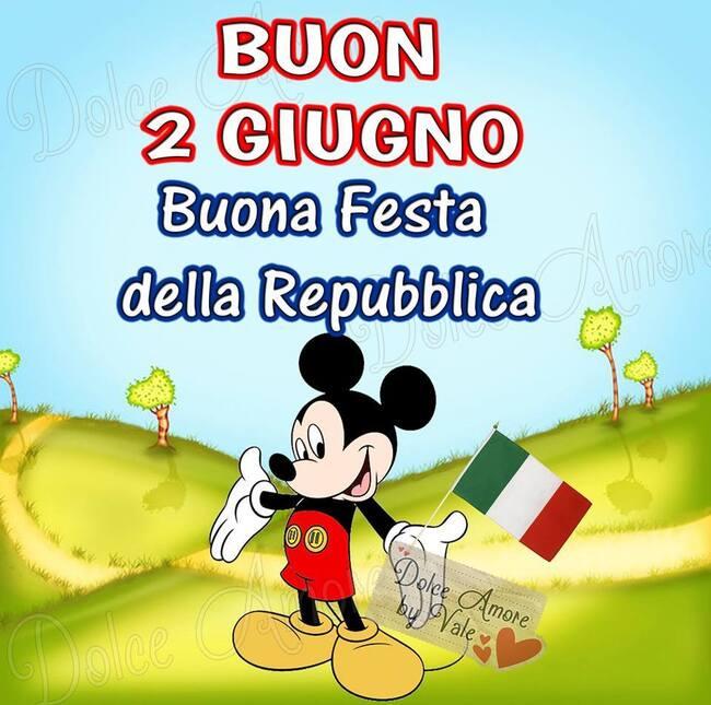 Buon 2 Giugno Buona Festa della Repubblica