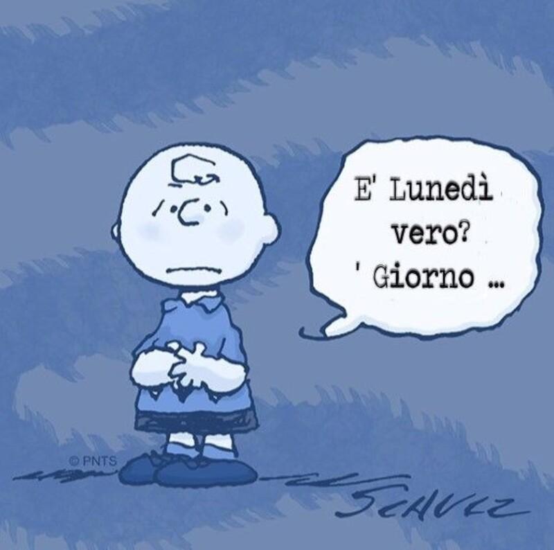 Buon Lunedì da ridere assieme a Snoopy (3)