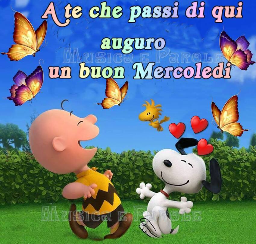 Buon Mercoledì Snoopy (1)