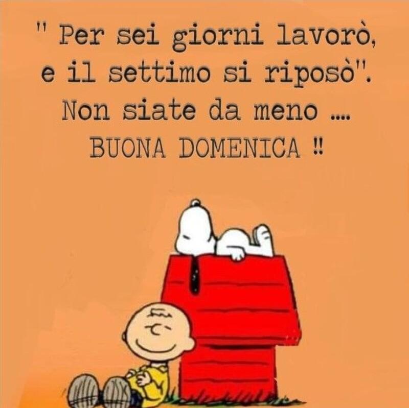 Buona Domenica link divertenti con Snoopy