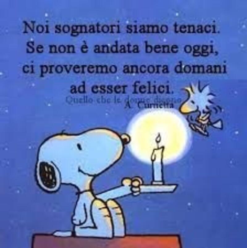 Buonanotte vignette con Snoopy (2)