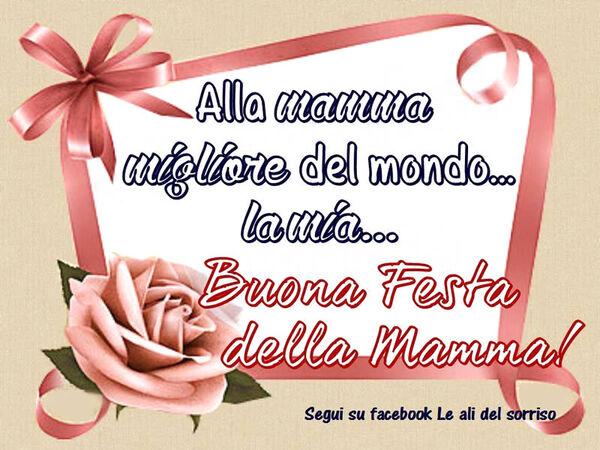 Buongiorno e Buona Festa della Mamma (1)