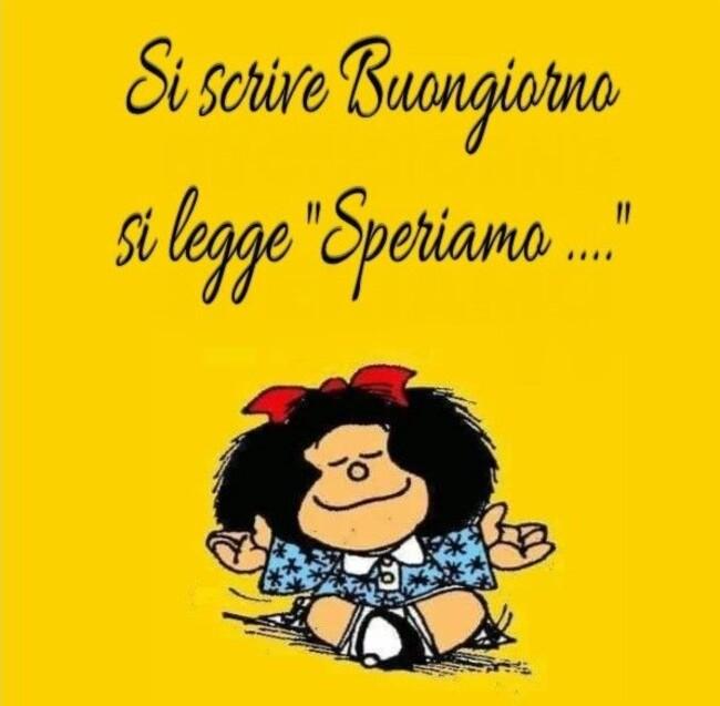 Buongiorno vignette belle con Mafalda (1)