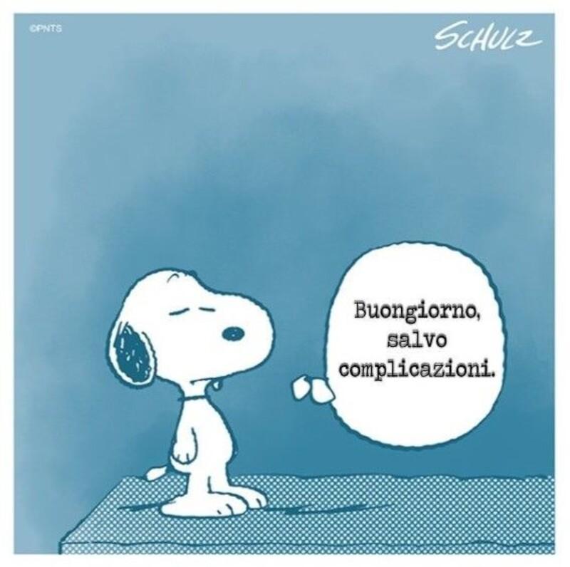 Buongiorno vignette con Snoopy (1)