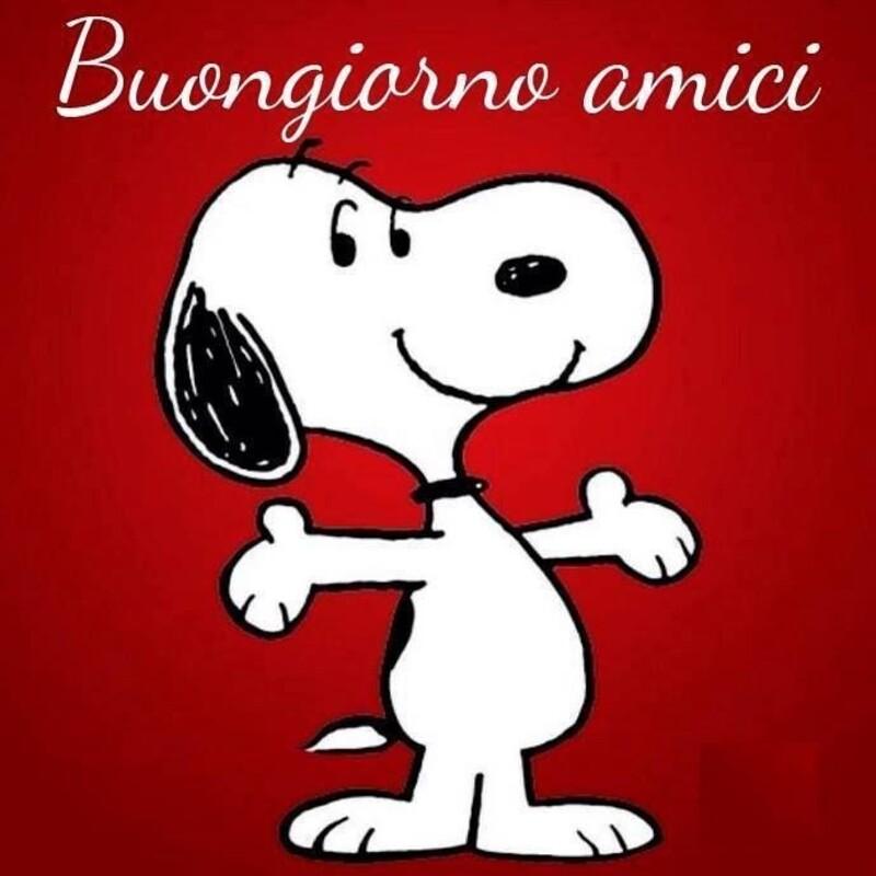 Buongiorno vignette con Snoopy (2)
