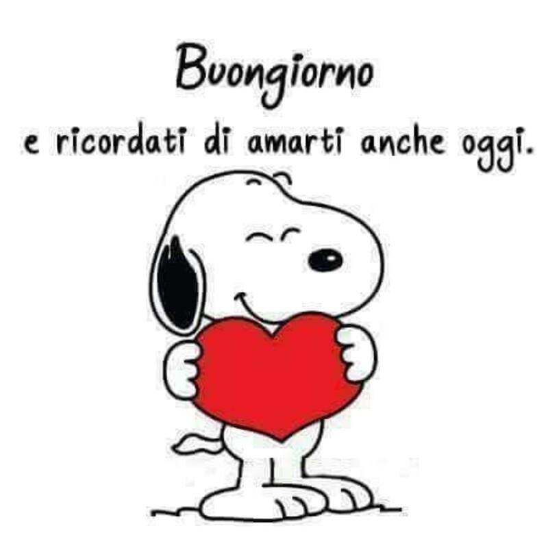 Buongiorno vignette con Snoopy (4)