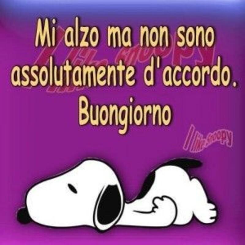 Buongiorno vignette con Snoopy (8)
