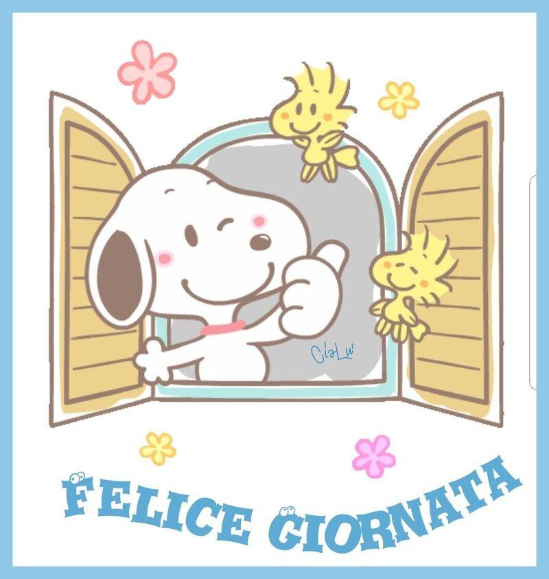 Felice Giornata da Snoopy