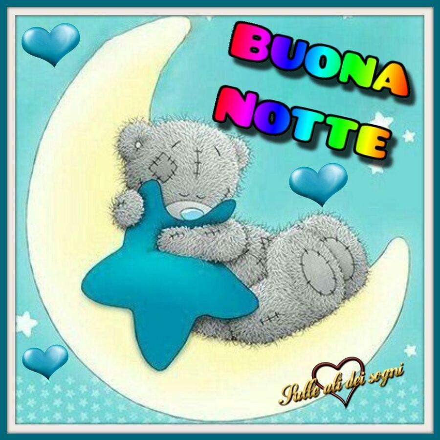 Bnotte e buonanotte amici di Facebook 9