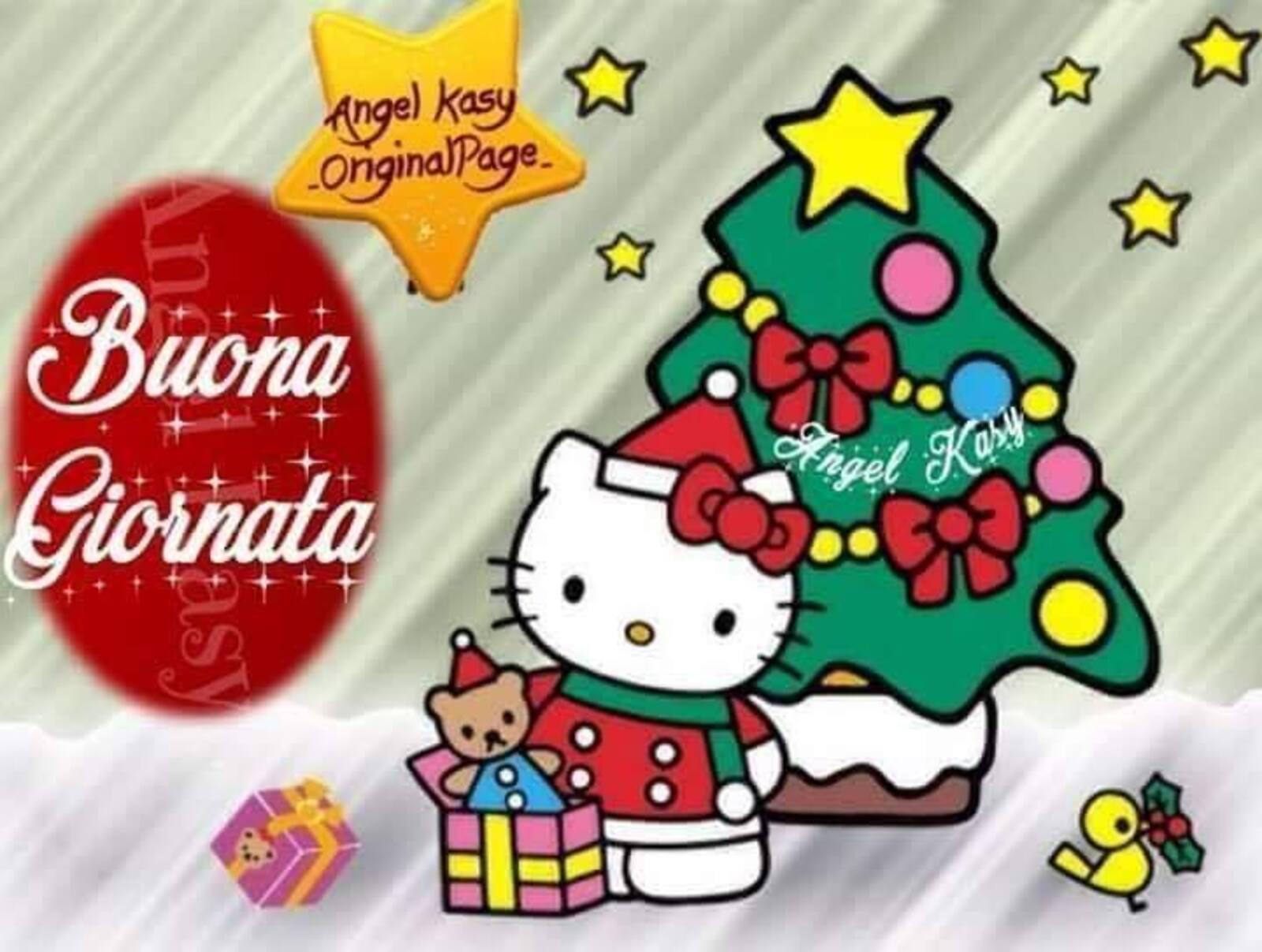 Buona giornata Hello Kitty Natale