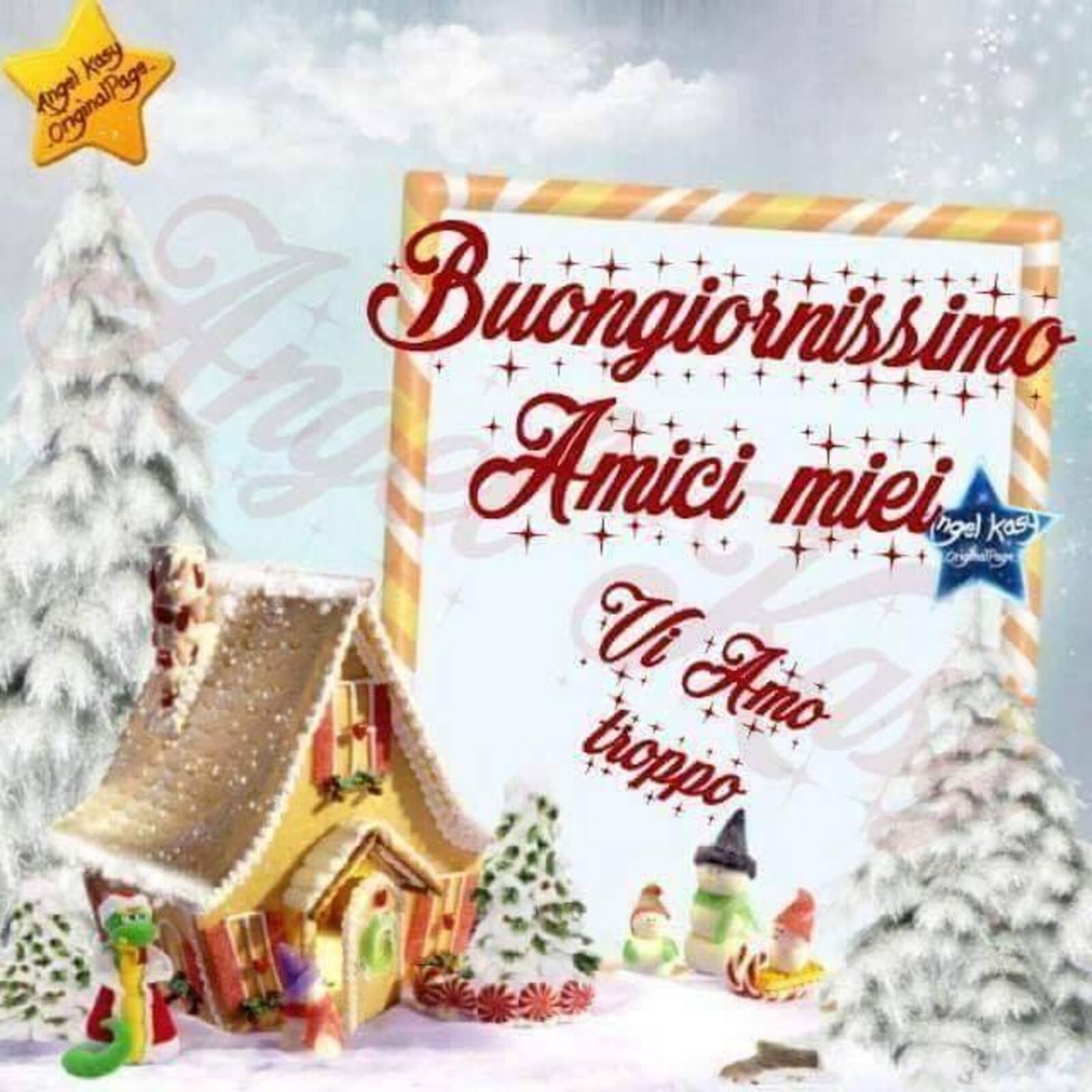 Buongiornissimo amici miei Natale